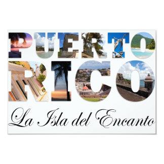 Puerto Rico La Isla Del Encanto Colagem/montagem
