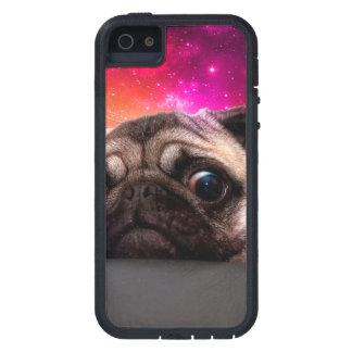 pug do espaço - comida do pug - biscoito do pug capa para iPhone 5