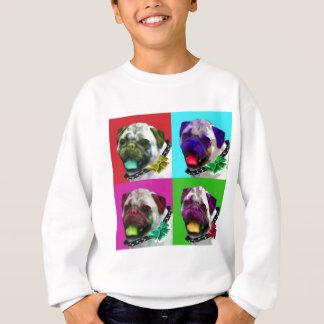 Pug do pop art agasalho