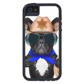 pug do vaqueiro - vaqueiro do cão capa tough xtreme para iPhone 5