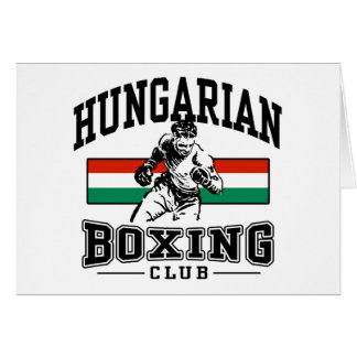 Pugilista húngaro cartões