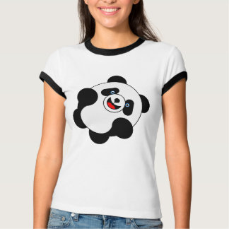 Pulando a panda tshirts
