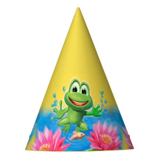 Pulando o chapéu do divertimento da festa de