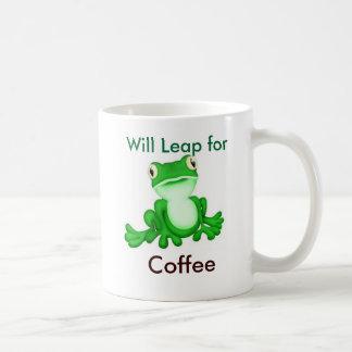 Pulará para o café caneca de café