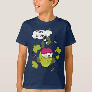 Pulga engraçado a camisa da banda desenhada t da