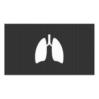 Pulmões modernos do pulmonologist da pneumologia m cartão de visita