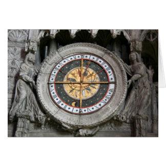 Pulso de disparo astrológico Chartres Cartão