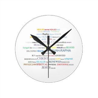 Pulso de disparo da escritura - curando relógios de pendurar
