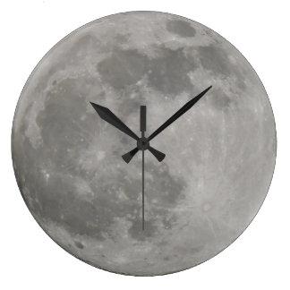 Pulso de disparo da Lua cheia Relógios Para Pendurar
