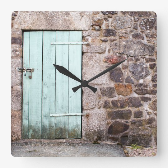 Pulso de disparo da porta estável e de parede de relógio quadrado