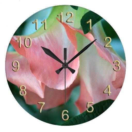 Pulso de disparo de parede cor-de-rosa do Brugmans Relógios De Paredes
