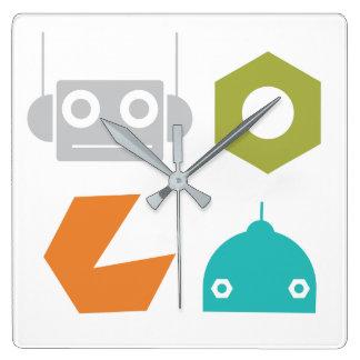 Pulso de disparo de parede dos robôs - decoração relógios de paredes