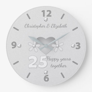 Pulso de disparo do aniversário de casamento de relógios de pendurar