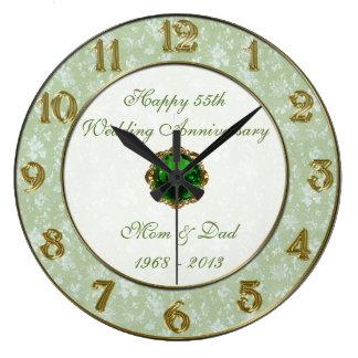 Pulso de disparo do aniversário de casamento do relógio para parede