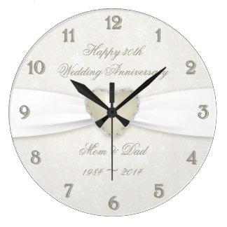Pulso de disparo do aniversário de casamento do relógios para paredes