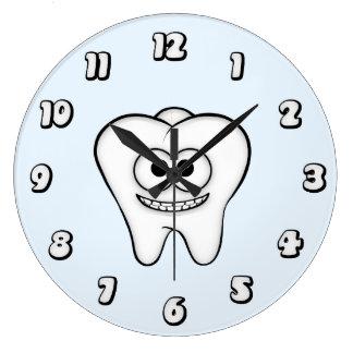 Pulso de disparo do dente relógios para paredes