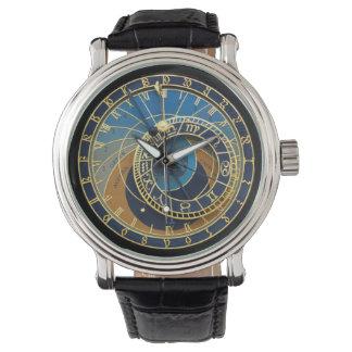 Pulso de disparo-Praga astronômica Orloj Relógio