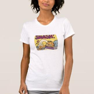 Pulso de disparo sensacional de Garfield, a camisa Camiseta