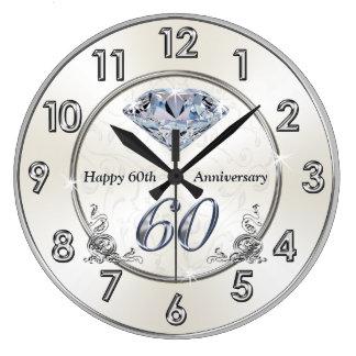 Pulsos de disparo do aniversário de casamento do relógios para pendurar