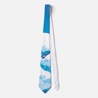 Pulverizador do oceano gravata