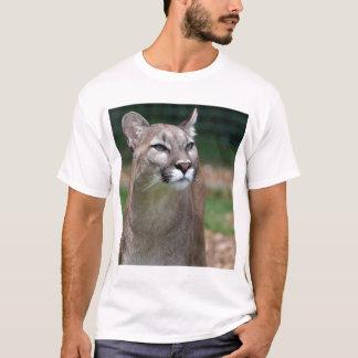 Puma, camiseta do leão de montanha, t-shirt