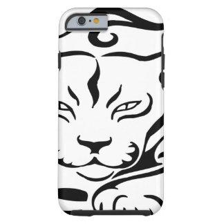 Puma selvagem e lindo capa tough para iPhone 6