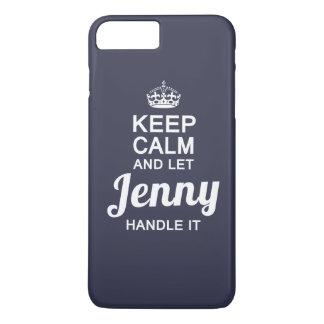 Punho de Jenny ele! Capa iPhone 7 Plus