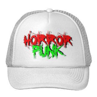 Punk do horror bonés