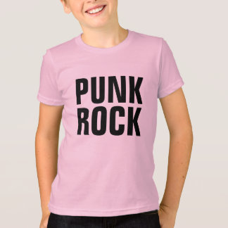 Punk rock camiseta