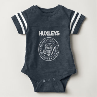 Punk rock de Huxleys Body Para Bebê