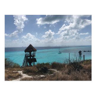 Punta Sur, Isla Mujeres, cartão de México
