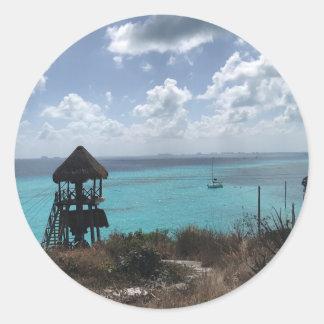 Punta Sur, Isla Mujeres, etiquetas de México