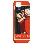 Pupniks Belka & o espaço soviético de Strelka Capas Para iPhone 5