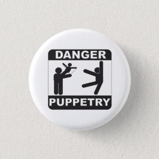 Puppetry do perigo bóton redondo 2.54cm