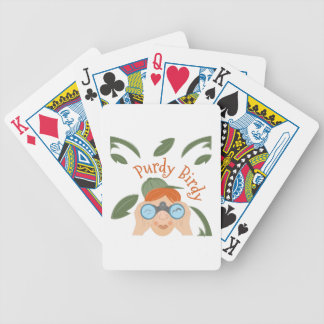Purdy Birdy Baralho Para Poker
