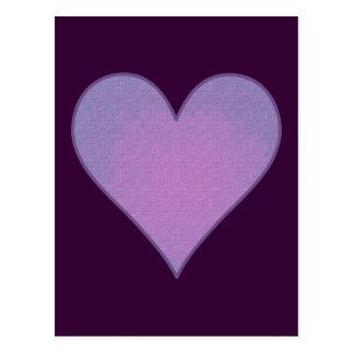 Purple Heart Cartão Postal