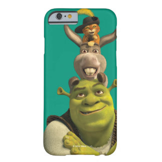 Puss nas botas, asno, e Shrek Capa Barely There Para iPhone 6