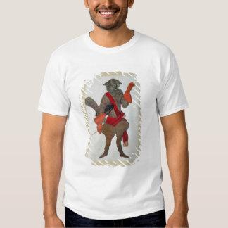 Puss nas botas, da Bela Adormecida, 1921 (cor T-shirt