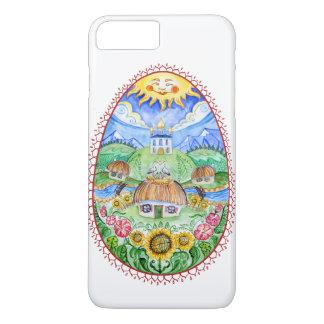 Pysanka ucraniano do ovo da páscoa capa iPhone 7 plus