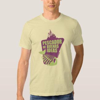 Qawana Wear Pescador de buenas ideas T-shirt