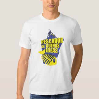 Qawana Wear Pescador de buenas ideas Tshirts