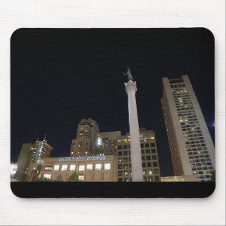 Quadrado #2 Mousepad da união de San Francisco
