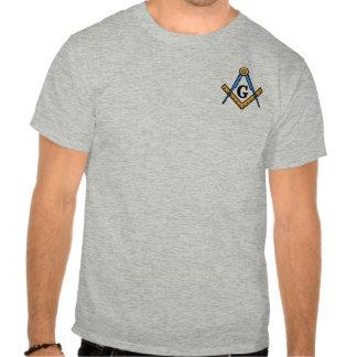Quadrado & compassos maçónicos tshirts