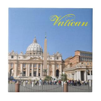 Quadrado de San Pietro no vaticano, Roma, Italia