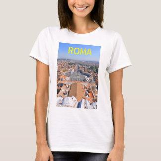 Quadrado de St Peter no vaticano, Roma, Italia Camiseta