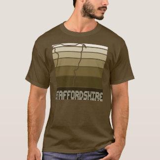 Quadrado de Staffie - camisa de Staffordshire bull