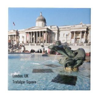 Quadrado de Trafalgar em Londres, Reino Unido