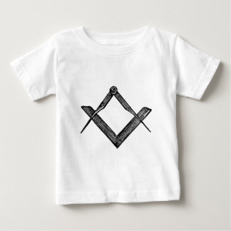Quadrado e compassos camisetas