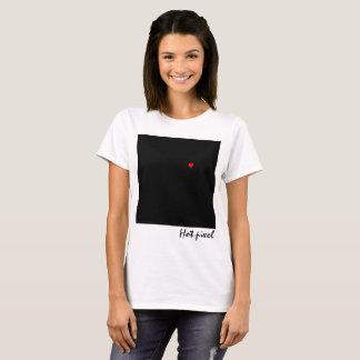 Quadrado preto com um customizável engraçado do camiseta