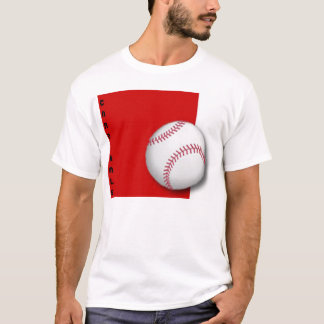 quadrado vermelho do basebol, CARDEAIS Camiseta